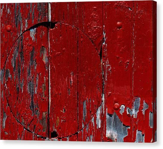 Red Circle Canvas Print