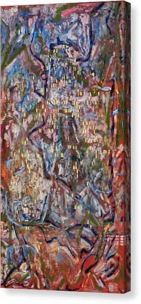 Red City Canvas Print by Joan De Bot
