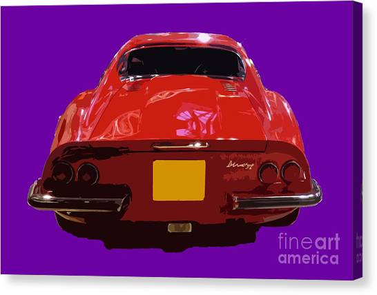 Red Classic Emd Canvas Print