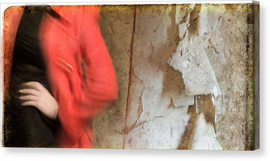 Red Coat #4820 Canvas Print