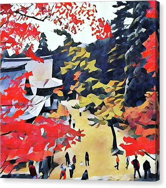 Canvas Print - Autumn Color  by Naomi Ibuki