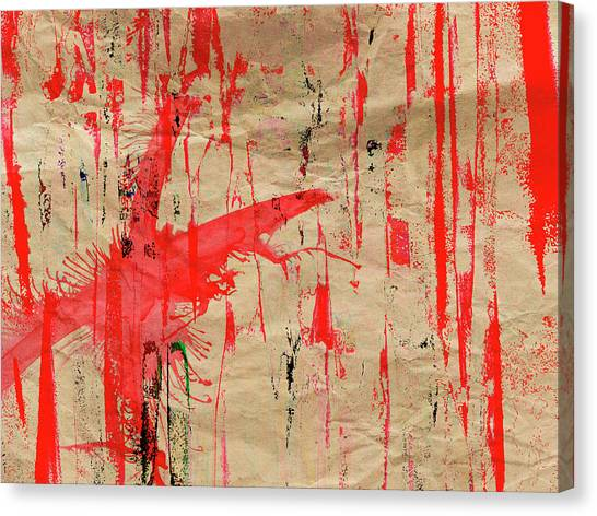 Canvas Print - Red by Contemporary Art