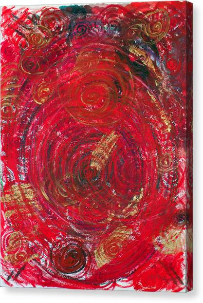 Canvas Print - Red Energy by Erika Brown