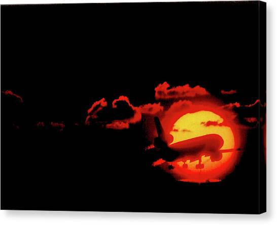 Red Eye Special Canvas Print