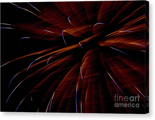 Canvas Print - Red Flare by Jeannie Burleson