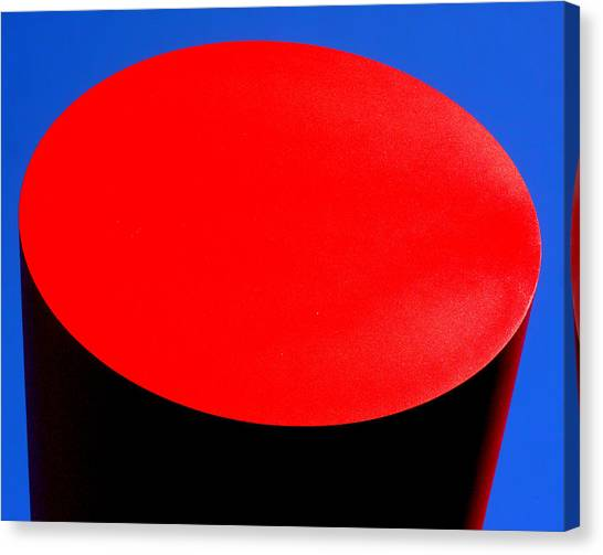 Red Circle 2016 Canvas Print