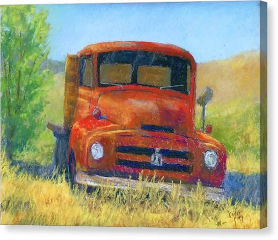 Red International Canvas Print