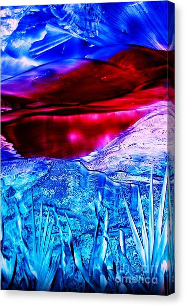 Red Lake Canvas Print