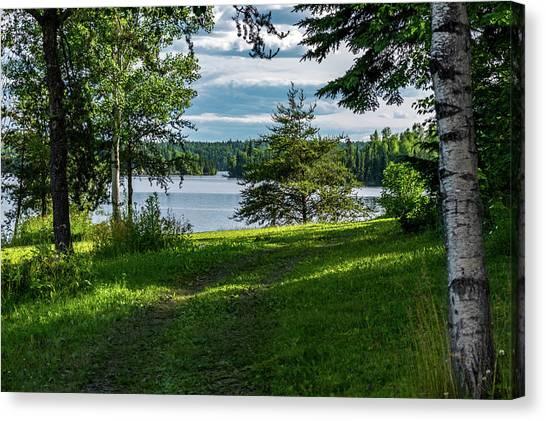 Red Lake Ontario 2 Canvas Print