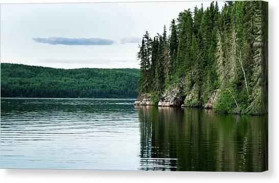 Red Lake Ontario Canvas Print