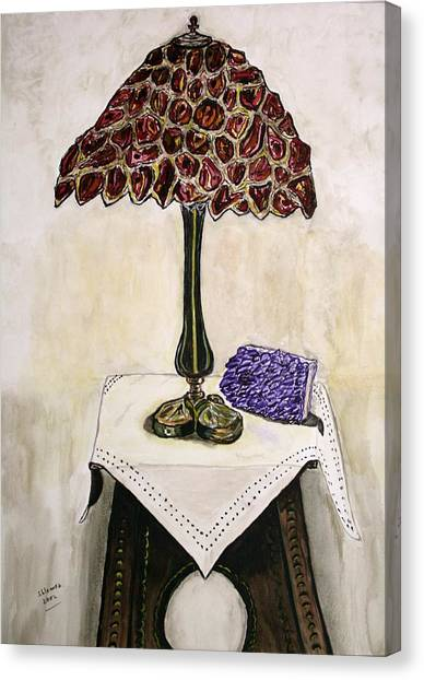Red Lamp Canvas Print