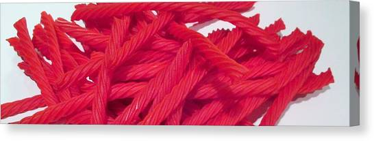 Red Licorice  Canvas Print