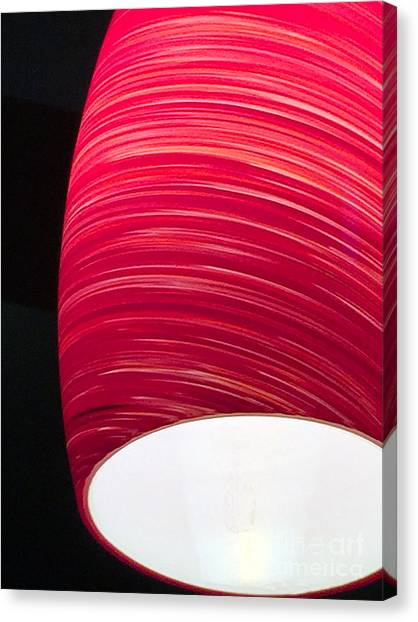 Red Light Cafe Canvas Print