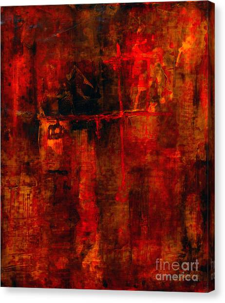 Red Odyssey Canvas Print
