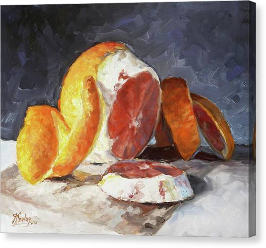 Canvas Print - Red Orange by Irek Szelag