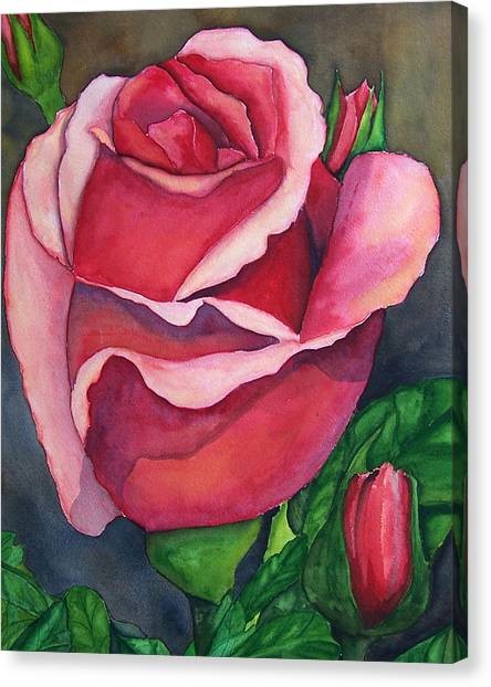 Red Red Rose Canvas Print by Robert Thomaston