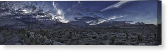Red Rock Canyon State Park Canvas Print