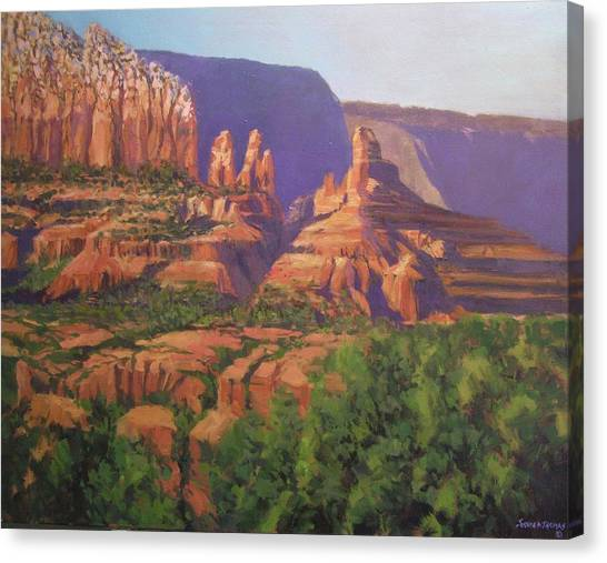 Red Rocks Sedona Canvas Print