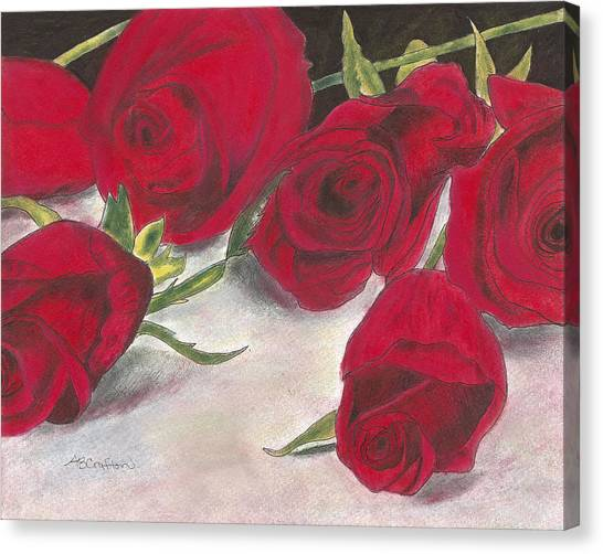 Red Rose Redux Canvas Print