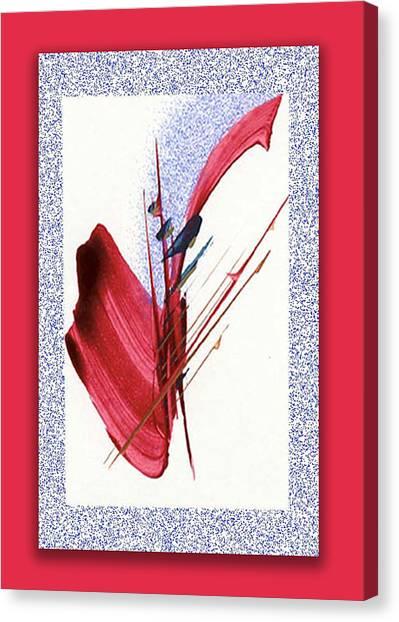 Red Sax Canvas Print