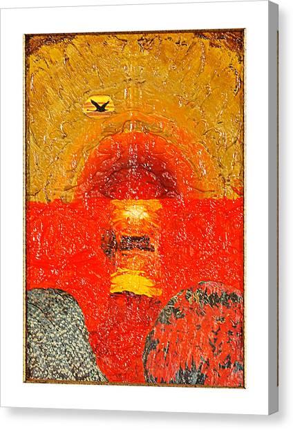 Red Sea Canvas Print by Howard Goldberg