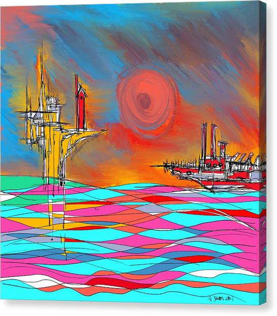 Red Sea Canvas Print