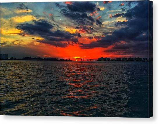 Red Sky  Canvas Print