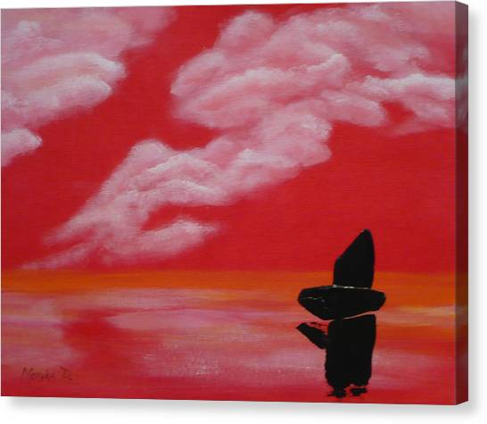 Red Sky1 Canvas Print
