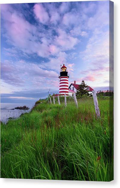 Red, White And Blue - Vertical Canvas Print