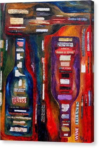 Red White Whatever Canvas Print by Patti Schermerhorn