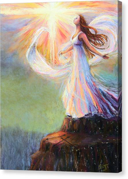 Praise The Lord Canvas Print - Redeemed by Susan Jenkins