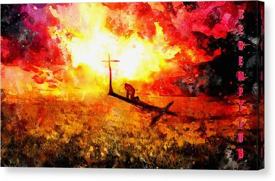 Redemption John Chapter 3 Canvas Print