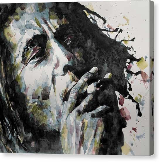 Bob Marley Canvas Print - Redemption  by Paul Lovering