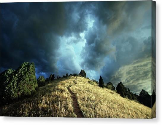 Redemption Trail Canvas Print