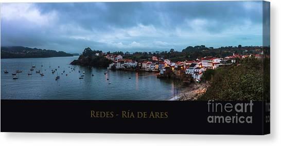 Redes Ria De Ares La Coruna Spain Canvas Print