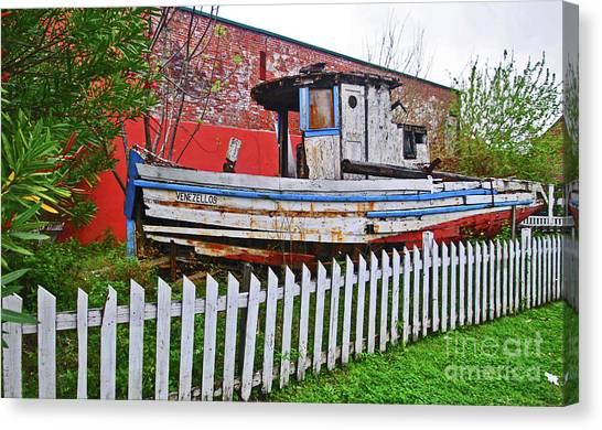 Redneck Dry Dock Canvas Print