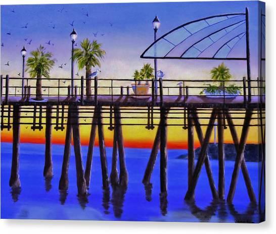Redondo Beach Pier Canvas Print
