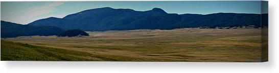 Redondo Peak Over The Caldera Panoramic Canvas Print
