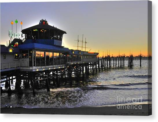 Redondo Pier North Canvas Print