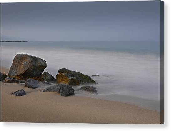 Redondo Rocks Canvas Print
