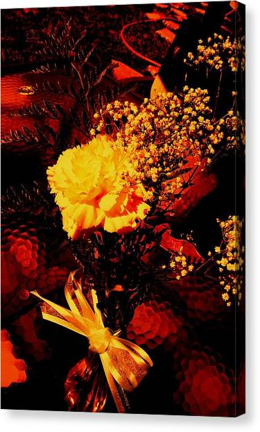 Reds And Yellows. Canvas Print by Douglas Kriezel
