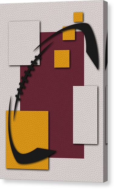Washington Redskins Canvas Print - Redskins Football Art by Joe Hamilton