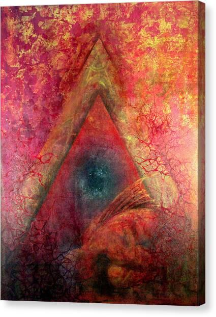 Redstargate Canvas Print