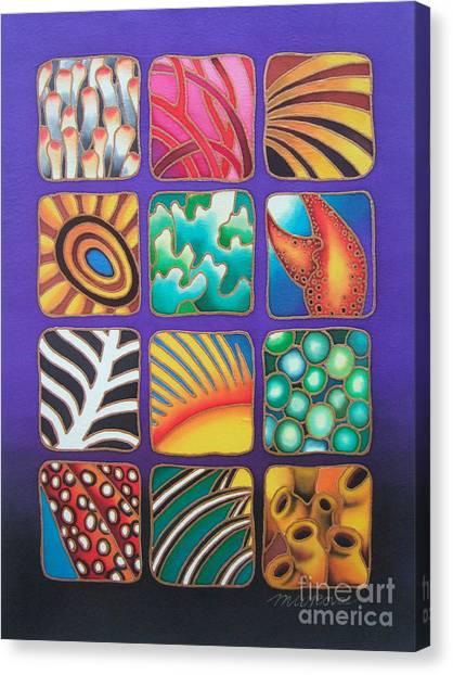 Reef Designs Ix Canvas Print