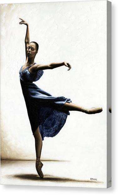 Susan Canvas Print - Refined Grace by Richard Young