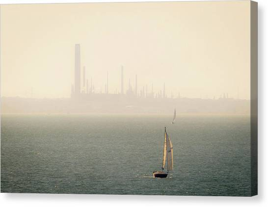 Refined Mists Canvas Print