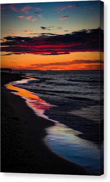 Reflect On This Canvas Print