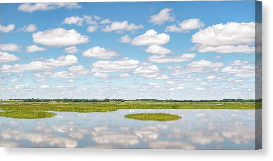 Reflected Clouds - 01 Canvas Print