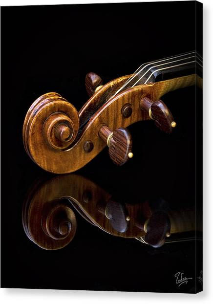 Reflected Scroll Canvas Print