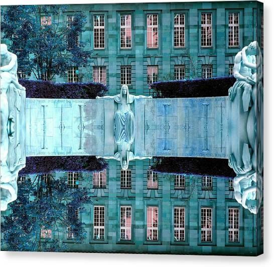 Reflecting Canvas Print